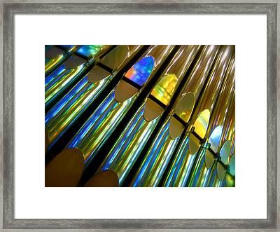 Reflection Framed Print by Jon Berry OsoPorto