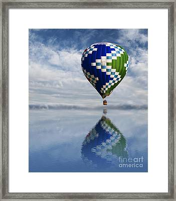 Reflection Framed Print by Juli Scalzi