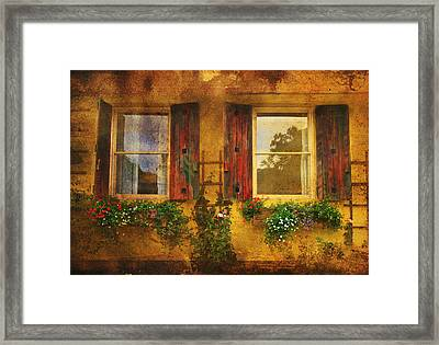 Reflection Framed Print by Kandy Hurley