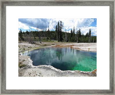 Framed Print featuring the photograph Reflection by Laurel Powell