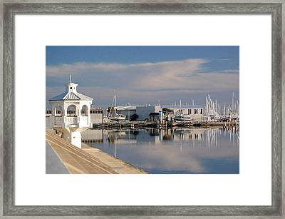 Framed Print featuring the photograph Reflection by Leticia Latocki
