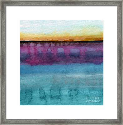 Reflection Framed Print by Linda Woods