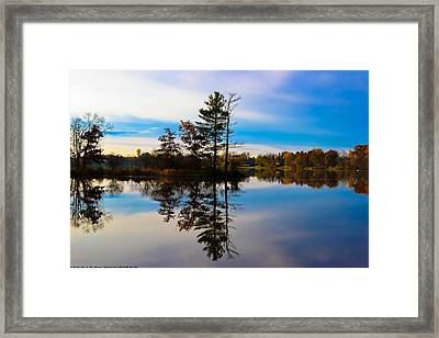 Reflection Framed Print by Michelle and John Ressler