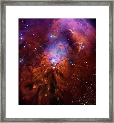 Reflection Nebula Ngc 1999 Framed Print by Robert Gendler