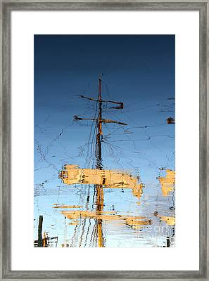 Reflection Of A Golden Age Framed Print by Butch Lombardi