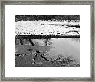 Reflection Of A Storm Framed Print by Tom Gari Gallery-Three-Photography