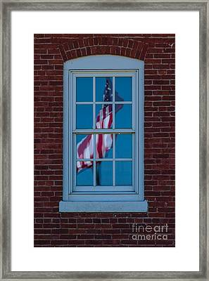 Framed Print featuring the photograph Reflection Of Freedom by Patrick Shupert