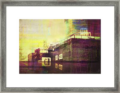 Reflection Of Pieces Framed Print by Susan Stone
