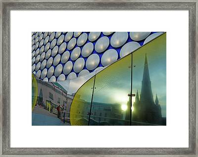Reflection Of St Margarets Church Framed Print