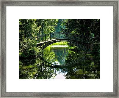 Reflection Paradise Framed Print by Mariola Bitner