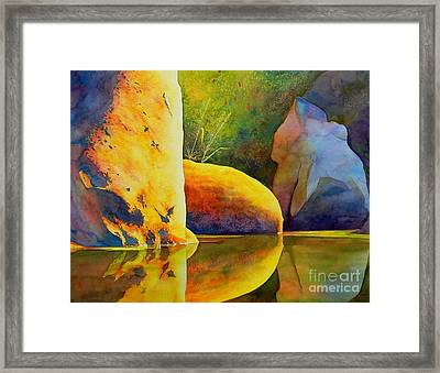 Reflection Framed Print by Robert Hooper