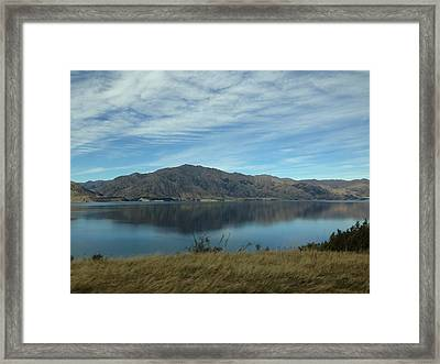 Reflection Framed Print by Ron Torborg