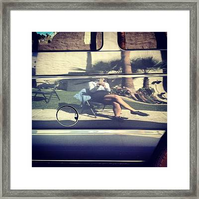 Reflection Framed Print by Selia Hansen