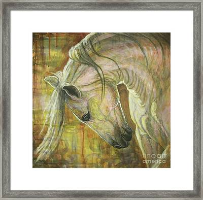 Reflection Framed Print by Silvana Gabudean Dobre
