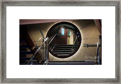 Reflection Stair Framed Print