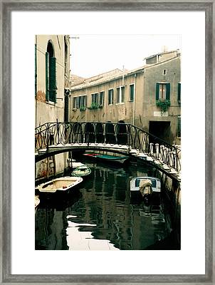 Framed Print featuring the photograph Reflection by Steve Godleski