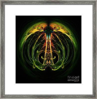 Reflection Symmetry  Framed Print by Elizabeth McTaggart