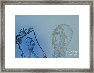Reflection Framed Print by Thommy McCorkle