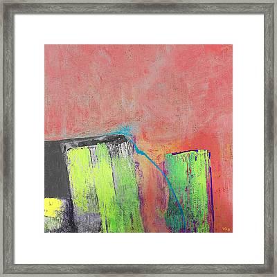 Reflection Framed Print by Vess Art