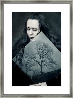 Reflection Framed Print by Cambion Art