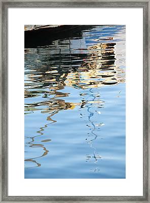 Reflections - White Framed Print