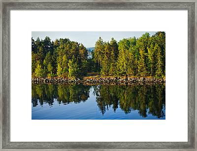 Reflections 1 Sweden Framed Print by Marianne Campolongo