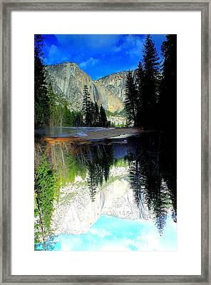Reflections 1 Yosemite Framed Print