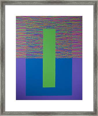 Reflections 2 Framed Print by Kyung Hee Hogg