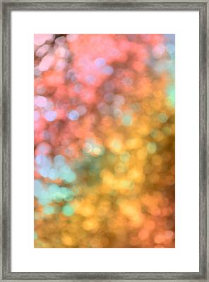 Reflections - Abstract  Framed Print
