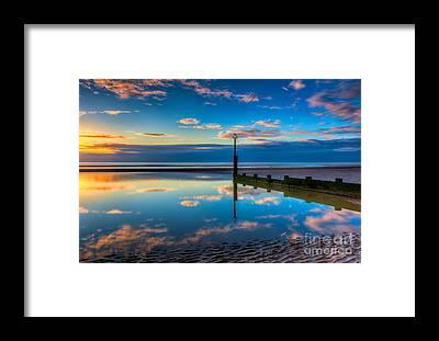 North Sea Framed Prints