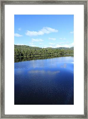 Reflections All Profits Go To Hospice Of The Calumet Area Framed Print