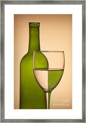 Reflections And Refractions Framed Print by Susan Candelario