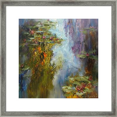 Reflections Framed Print by Andras Manajlo