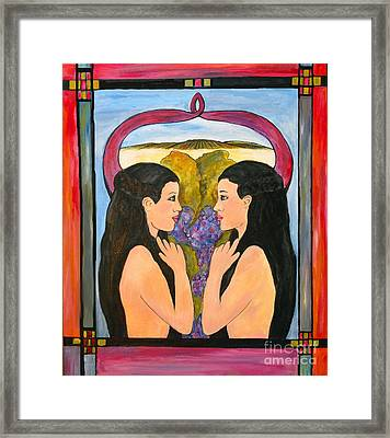 Reflections Framed Print by Annette Dion McGowan