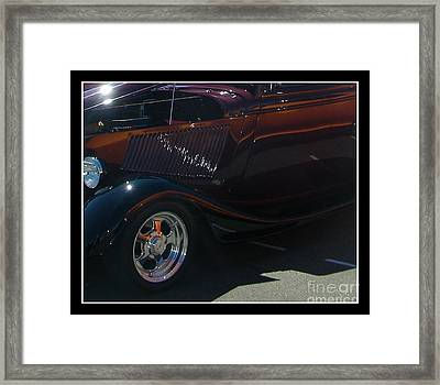 Framed Print featuring the photograph Reflections by Bobbee Rickard