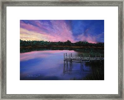 Reflections Framed Print by Cathy Weaver