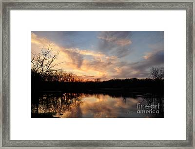 Framed Print featuring the photograph Reflections by Cheryl McClure
