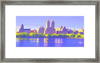 Reflections Framed Print by Dan Hilsenrath