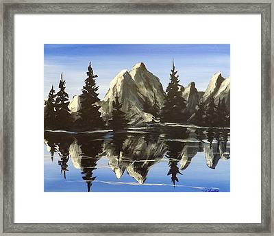 Reflections Framed Print by Darren Robinson