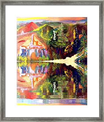 Reflections  Framed Print by Deborah Montana