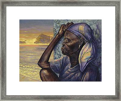 Reflections Framed Print by Dennis Goff