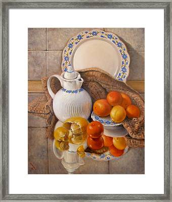 Reflections Framed Print by Donelli  DiMaria