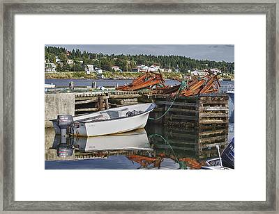 Framed Print featuring the photograph Reflections by Eunice Gibb