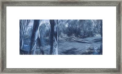 Reflections From Blue Yonder Framed Print