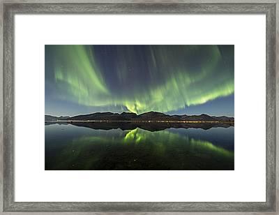 Reflections II Framed Print by Frank Olsen