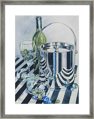 Reflections Ill Framed Print by Daydre Hamilton