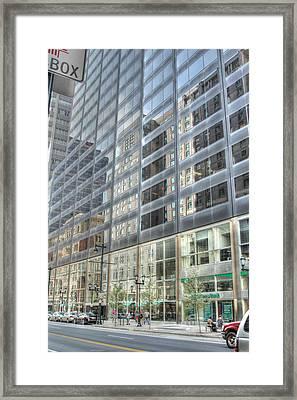 Reflections In Philadelphia Framed Print