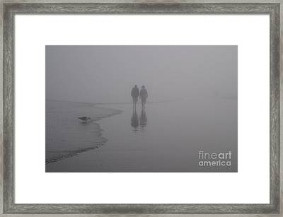 Reflections In The Fog Framed Print