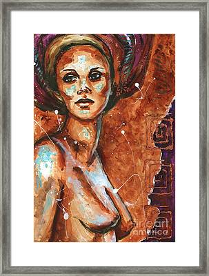Reflections In The Nude Framed Print