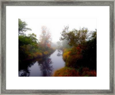 River Reflection Framed Print